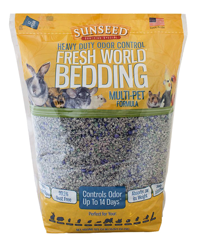 Picture of Sunseed Fresh World Bedding Multi-Pet Formula - 35 L