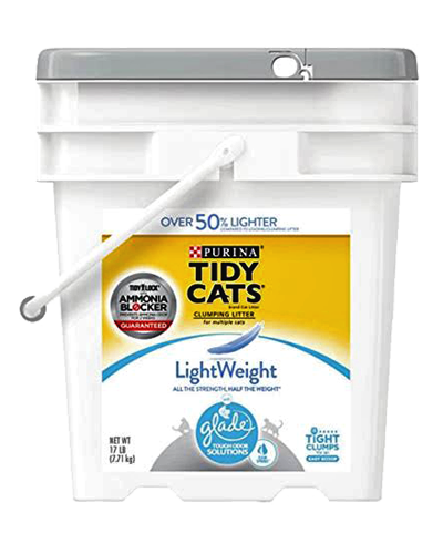 Picture of Purina Tidy Cats Lightweight with Glade Tough Odor Solutions Clear Springs Cat Litter - 17 lb.