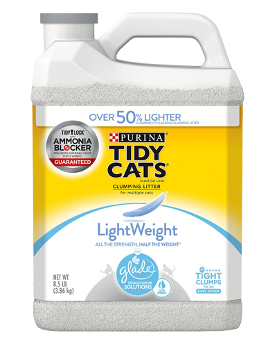 Picture of Purina Tidy Cats Lightweight with Glade Tough Odor Solutions Clear Springs Cat Litter - 8.5 lb.