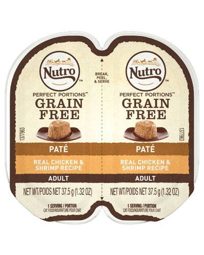 Picture of Nutro Adult Grain Free Perfect Portions Chicken and Shrimp Pate - 2.65 oz.