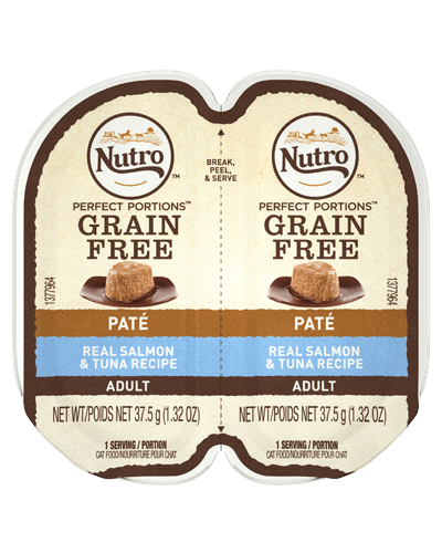 Picture of Nutro Adult Grain Free Perfect Portions Salmon and Tuna Pate - 2.65 oz.