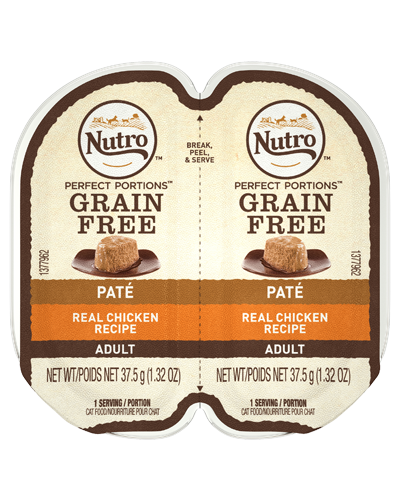 Picture of Nutro Adult Grain Free Perfect Portions Real Chicken Cuts In Gravy - 2.65 oz.