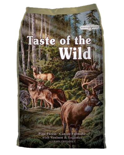 Picture of Taste Of The Wild Grain Free Adult Pine Forest Recipe with Venison & Legumes - 5 lbs.