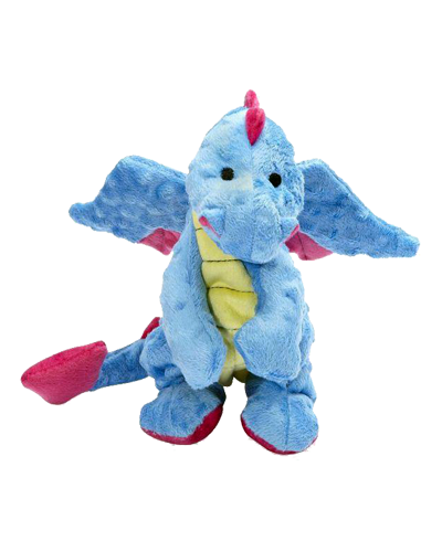 Picture of GoDog Small Dragon Toy with Chew Guard Periwinkle Blue