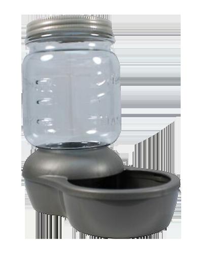 Picture of Petmate Mason Jar Replendish Waterer .5 Gallon