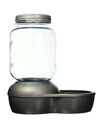 Picture of Petmate Replendish Waterer 1 Gallon - Silver