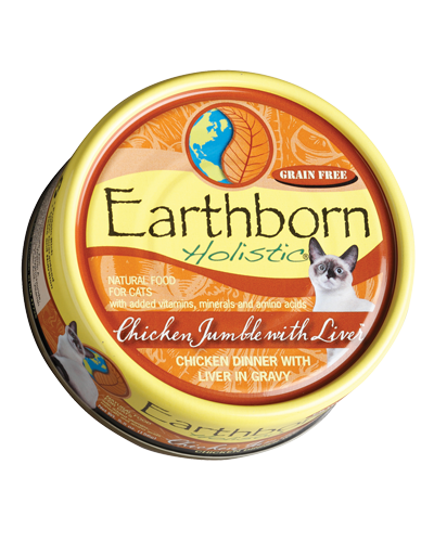 Picture of Earthborn Holistic Grain Free Chicken Jumble with Liver Dinner in Gravy - 5.5 oz.