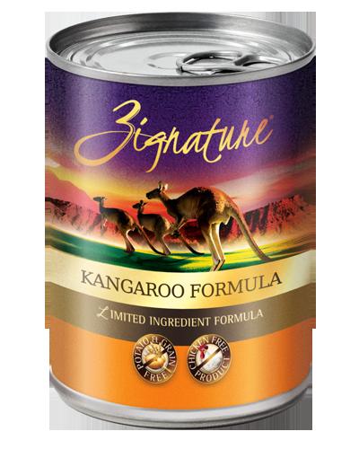 Picture of Zignature Grain Free Limited Ingredient Kangaroo Formula - 13 oz.