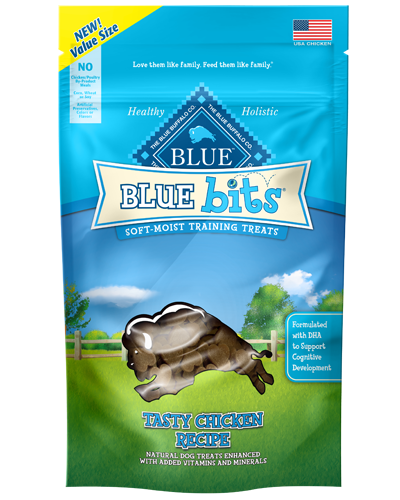 Picture of Blue Buffalo Bits Tasty Chicken Soft-Moist Training Treats - 9 oz.