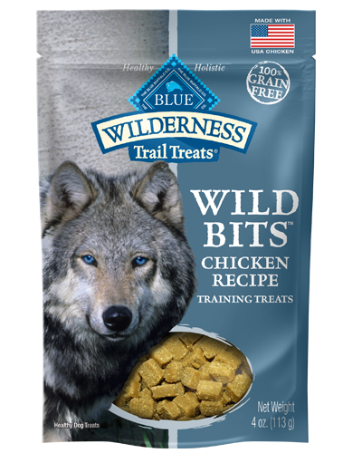 Picture of Blue Buffalo Wilderness Trail Treats Chicken Wild Bits Grain Free Training Treats - 4 oz.