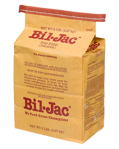Picture of Bil Jac Frozen Dog Food - 5 lb.