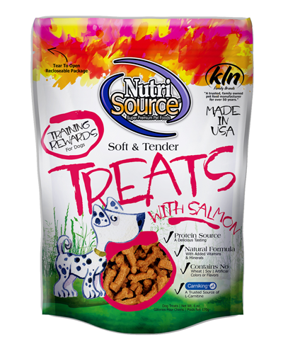 Picture of Nutrisource Soft & Tender Salmon Treats - 6 oz.