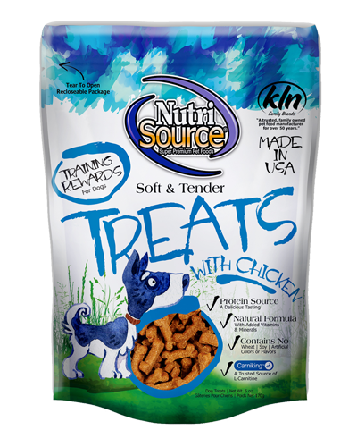 Picture of Nutrisource Soft & Tender Chicken Treats - 6 oz.