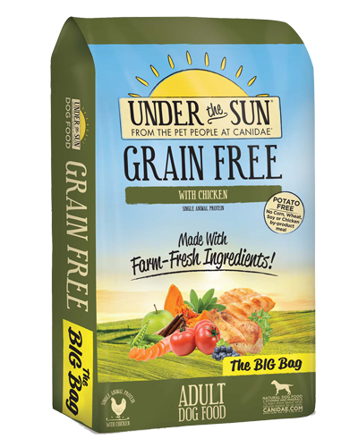 Picture of Canidae Under the Sun Grain Free Chicken Formula - 4 lb.