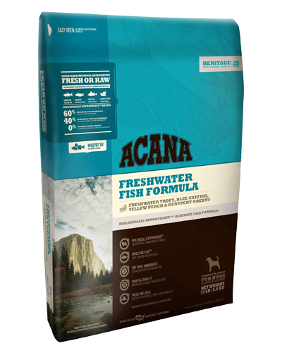Picture of Acana Heritage Grain Free Freshwater Fish -  25 lb.