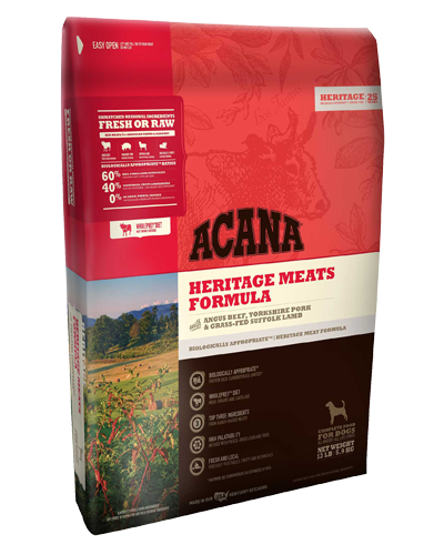 Picture of Acana Heritage Grain Free Red Meats - 4.5 lb.