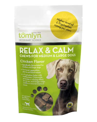 Picture of Tomlyn Relax & Calm Supplements - 30 Ct.
