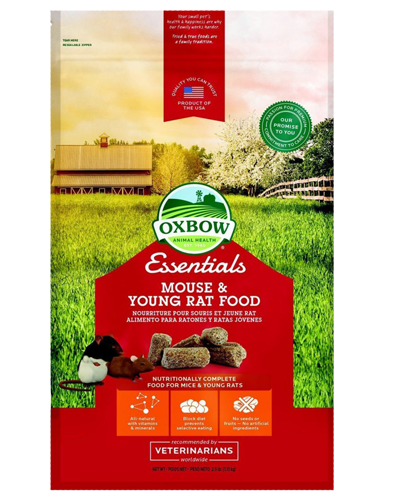 Picture of Oxbow Essentials Mouse & Young Rat Food - 2.5 lb.