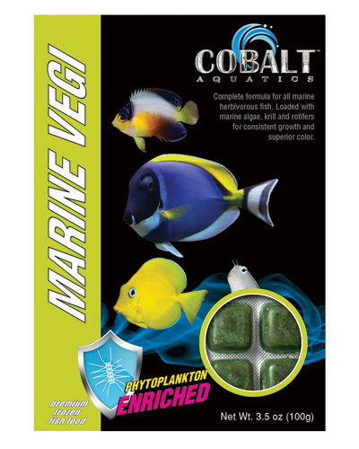 Picture of Cobalt Frozen Marine Vegi Cubes - 3.5 oz. (2 pack)