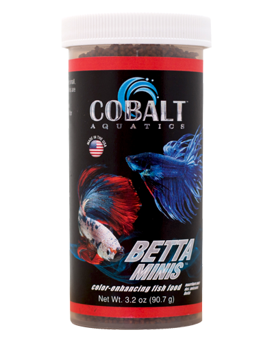 Picture of Cobalt Color Enhancing Betta Minis - 3.2 oz.