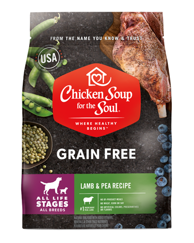 Picture of Chicken Soup for the Soul Grain Free Lamb, Pea, and Green Lentil Limited Ingredient Recipe - 25 lb.