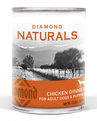 Picture of Diamond Naturals Chicken Dinner for Adults & Puppies - 13.2 oz.