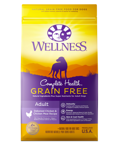 Picture of Wellness Complete Health Grain Free Deboned Chicken & Chicken Meal Recipe - 4 lbs.