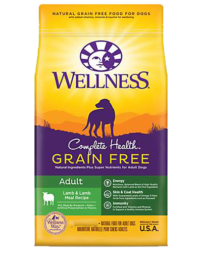 Picture of Wellness Complete Health Grain Free Lamb & Lamb Meal Recipe - 4 lbs.