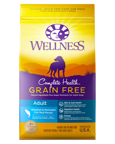 Picture of Wellness Complete Health Grain Free Whitefish & Menhaden Fish Meal Recipe - 24 lbs.