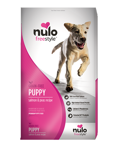Picture of Nulo FreeStyle Puppy Grain Free Salmon and Peas Recipe - 4.5 lb.