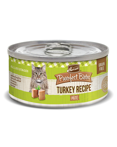 Picture of Merrick Purrfect Bistro Grain Free Turkey Pate - 5.5 oz.