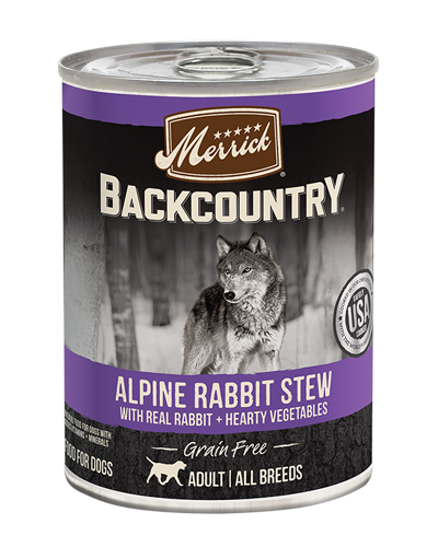 Picture of Merrick Backcountry Grain Free Alpine Rabbit Stew - 12.7 oz.