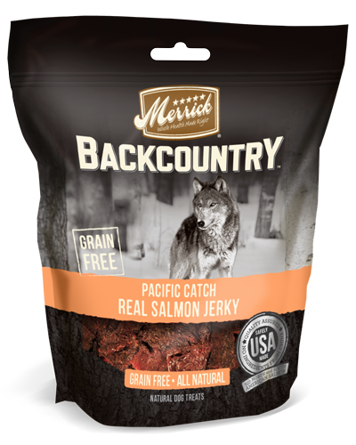 Picture of Merrick Backcountry Grain Free Pacific Catch Real Salmon Jerky