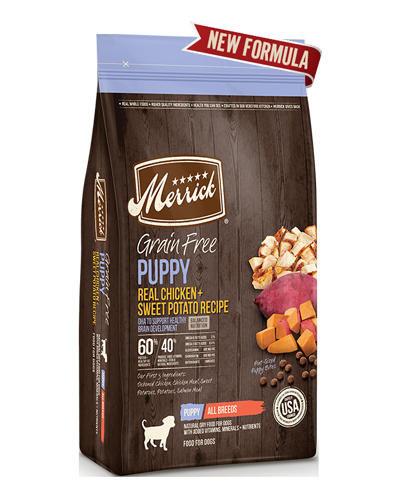 Picture of Merrick Grain Free Real Chicken + Sweet Potato Puppy Recipe - 4 lbs.