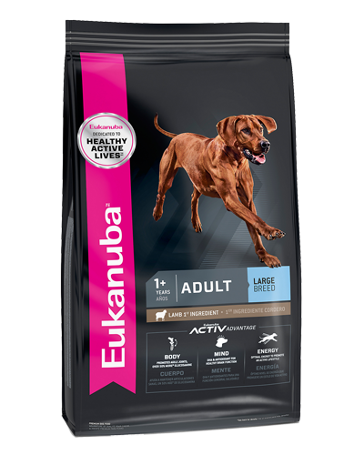 Picture of Eukanuba Lifestage Lamb and Rice Adult Large Breed Formula - 30 lb.
