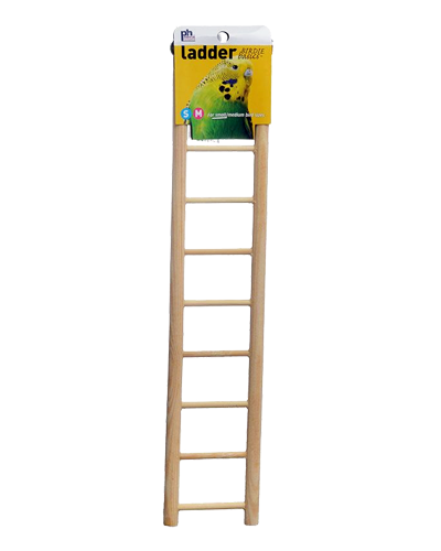 Picture of Prevue Birdie Basics 9 Rung Wood Ladder - 18""