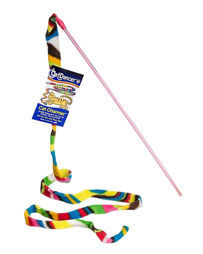 "Picture of Cat Dancer Charmer Wand - 48"" Assorted Colors"