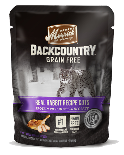 Picture of Merrick BackCountry Grain Free Real Rabbit Recipe Cuts - 3 oz.