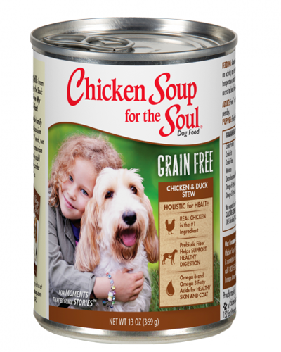 Picture of Chicken Soup for the Soul Grain Free Chicken and Duck Recipe Stew - 13 oz.