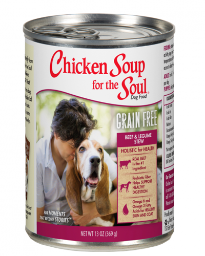 Picture of Chicken Soup for the Soul Grain Free Beef and Legume Recipe Stew - 13 oz.
