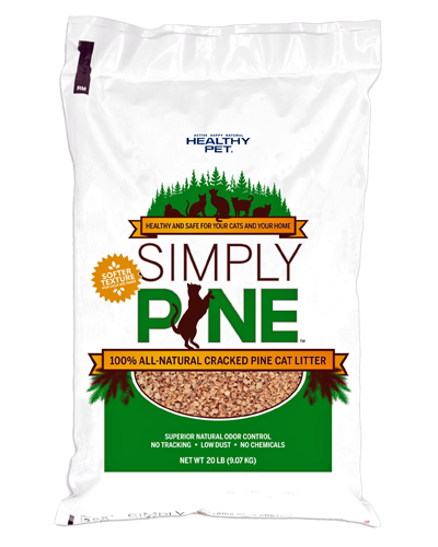 Picture of Simply Pine 100% All Natural Pine Pellet Litter - 20 lb.