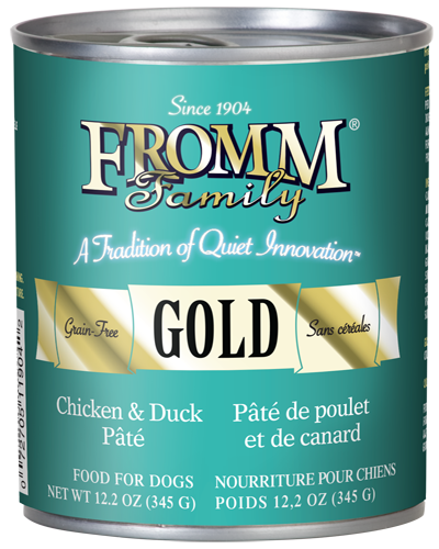 Picture of Fromm Grain Free Chicken and Duck Pate - 12.2 oz.