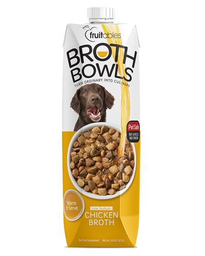 Picture of Fruitables Chicken Broth Bowls Food Topper - 16.9 oz.