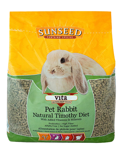 Picture of Sunseed Vita Sunscription Pet Rabbit Natural Timothy Diet - 5 lb.