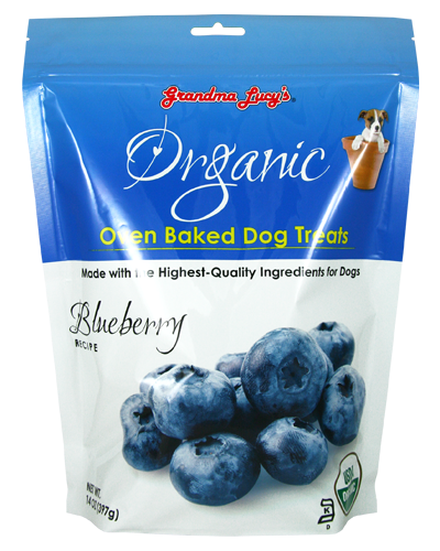 Picture of Grandma Lucy's Organic Oven-Baked Blueberry Treats - 14 oz.