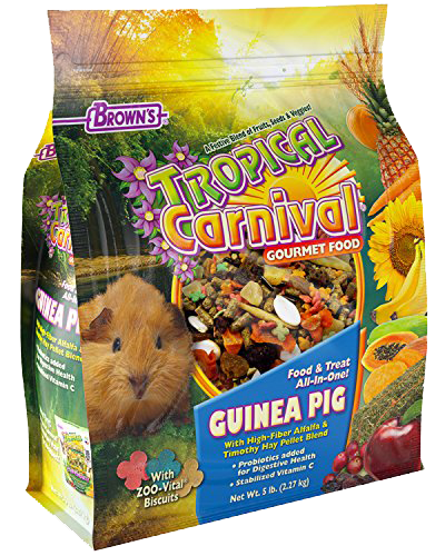 Picture of Brown's Tropical Carnival® Gourmet Guinea Pig Food - 5 lb.