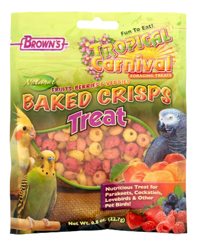 Picture of Brown's Tropical Carnival Natural Baked Crisps - .8 oz