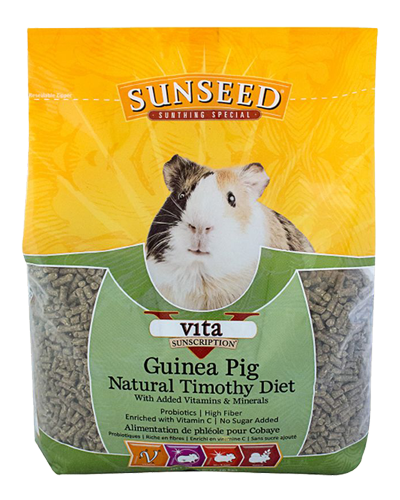 Picture of Sunseed Vita Sunscription Guinea Pig Natural Timothy Diet - 5 lb.