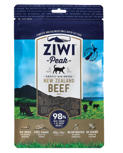 Picture of Ziwi Peak Air-Dried Grain Free New Zealand Beef - 14 oz.