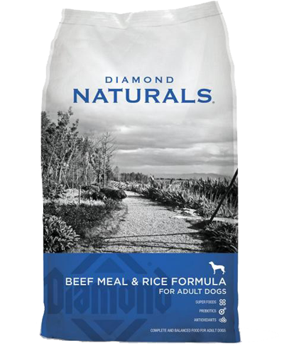 Picture of Diamond Naturals Adult Beef Meal & Rice - 40 lbs.